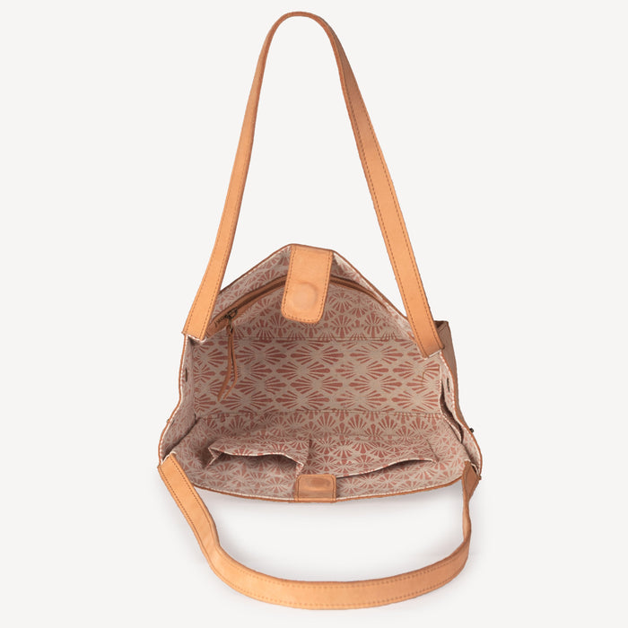 Nubuck Tote Bag Dusty Rose