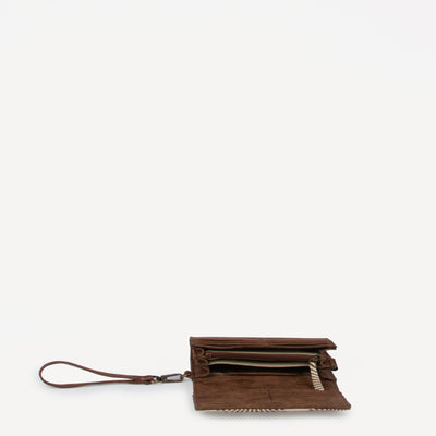 Vanya Vegan Wallet Fan Print