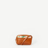Varsha Camel Leather Crossbody