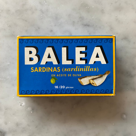 Balea Sardines in Olive Oil  125g