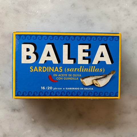 Balea Sardines in Olive Oil with Chilli 125g