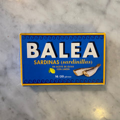 Balea Sardines in Olive Oil with Lemon 125g