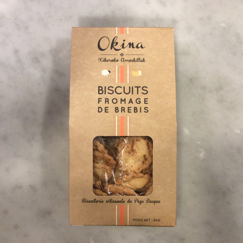 Okina Basque Cheese Biscuit