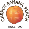 Carrot Banana Peach Logo