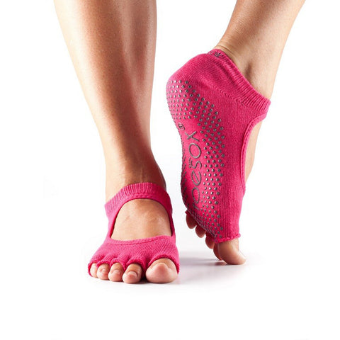 ToeSox Half Toe Grip Bella Yoga Socks
