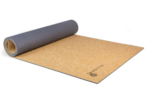 Yoloha Nomad Travel Cork Yoga Mat - Yoga Studio - 1