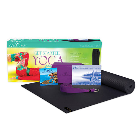 Wai Lana Get Started Yoga Kit - Yoga Studio