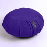 Yoga Studio Pleated Round Zafu Buckwheat Meditation Cushion - Yoga Studio - 12