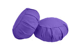 Yoga Studio Pleated Round Zafu Buckwheat Meditation Cushion - Yoga Studio - 13