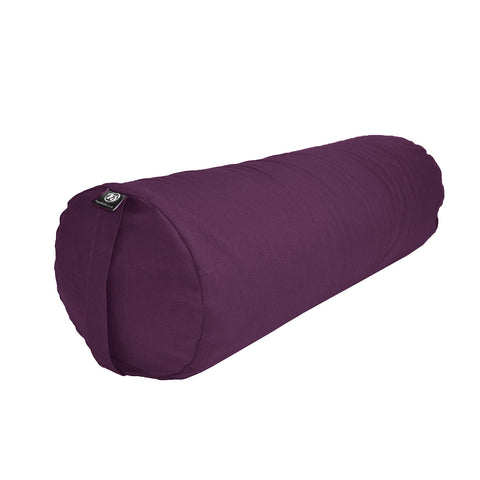 Yoga Studio Organic Buckwheat Bolster Hand Made in Europe