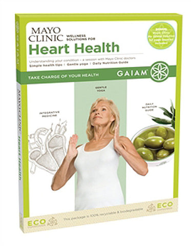 Gaiam Mayo Clinic Wellness Solutions for Heart Health DVD