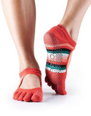 ToeSox Full Toe Grip Bella Yoga Socks