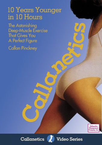 Callanetics- 10 Years Younger in 10 Hours [DVD] - Yoga Studio