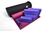 Yoga Studio Intermediate Kit - 6mm Mat - Black Round Kit Bag - Yoga Studio - 1