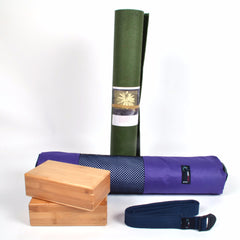Yoga Studio - ecoYoga Starter Kit - Bamboo Bricks
