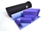 Yoga Studio Intermediate Kit - 6mm Mat - Black Round Kit Bag - Yoga Studio - 6