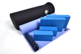 Yoga Studio Intermediate Kit - 6mm Mat - Black Round Kit Bag - Yoga Studio - 8