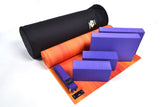 Yoga Studio Intermediate Kit - 6mm Mat - Black Round Kit Bag - Yoga Studio - 10