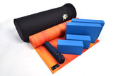 Yoga Studio Intermediate Kit - 6mm Mat - Black Round Kit Bag - Yoga Studio - 12