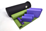 Yoga Studio Intermediate Kit - 6mm Mat - Black Round Kit Bag - Yoga Studio - 14