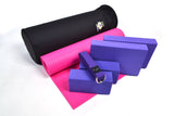 Yoga Studio Intermediate Kit - 6mm Mat - Black Round Kit Bag - Yoga Studio - 18