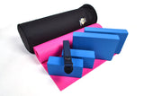 Yoga Studio Intermediate Kit - 6mm Mat - Black Round Kit Bag - Yoga Studio - 20