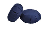 Yoga Studio Pleated Round Zafu Buckwheat Meditation Cushion - Yoga Studio - 9