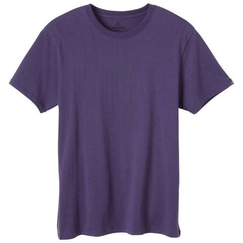 prAna Progression Tee Monsoon - Yoga Studio