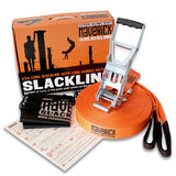 Maverick 25 Metre Slackline Set - Original Boxed - Yoga Studio - 1