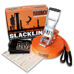Maverick 25 Metre Slackline Set - Original Boxed