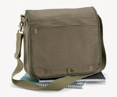 Bagbase Vintage Canvas Despatch Bag in Vintage Olive