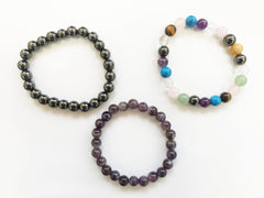 Gemstone Beads Power Bracelet
