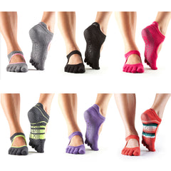 ToeSox - Full Toe Bellarina Yoga Socks