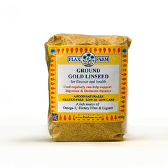Flax Farm Natural Ground Gold Linseed 450g