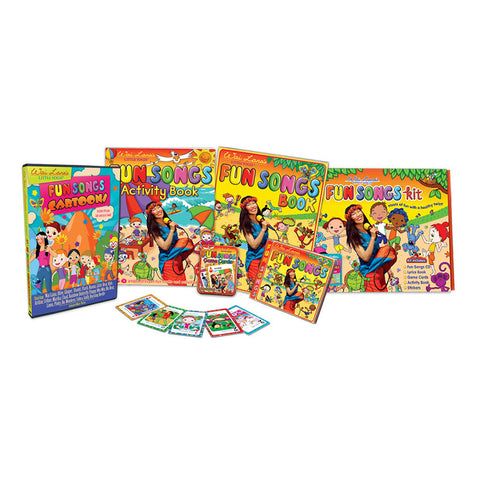 Wai Lana's Little Yogis' Fun Songs Kit - Yoga Studio