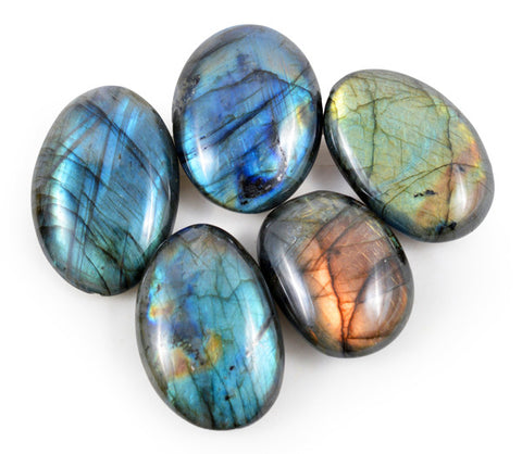 Labradorite Pebble Mini (One Stone) - Yoga Studio - 1