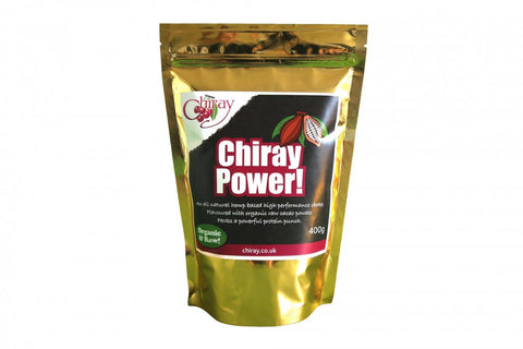 Chiray Superfoods Suppliment Powder - Cacao Flavoured 400g - 800g - Yoga Studio - 1