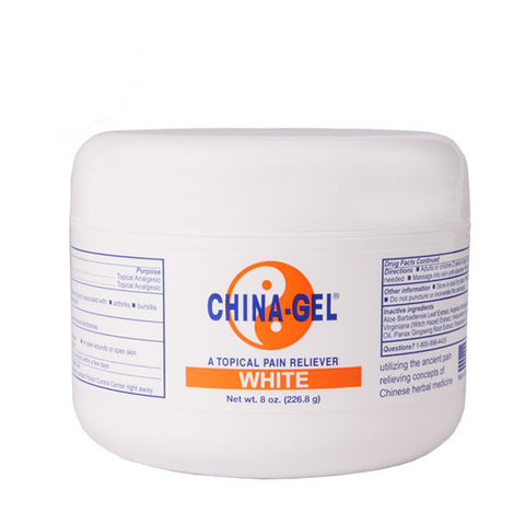 China Gel Topical Muscle Pain Reliever Gel 8oz Jar