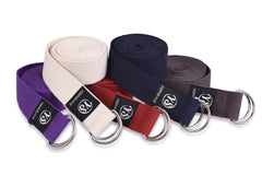 Yoga Studio Belt Strap Metal D-Ring Buckle