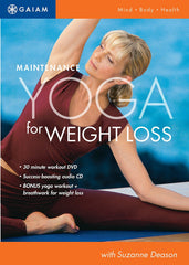 Gaiam - Maintenance Yoga For Weight Loss DVD - Audio CD