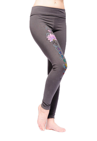 Yogamasti Synergy Womens Chakra Yoga Leggings - Yoga Studio - 1