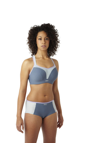 Panache Women's Full Cup Sports Bra - Grey - Sizes 36-40