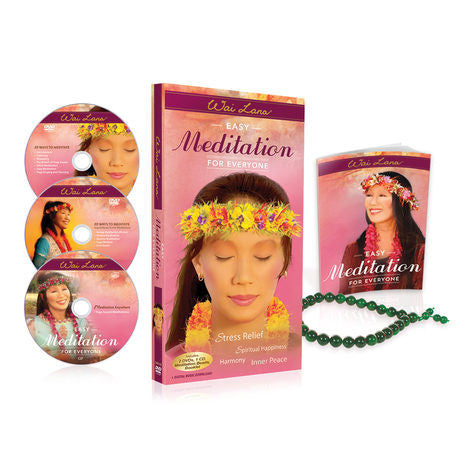 Wai Lana Easy Meditation For Everyone Kit - Yoga Studio