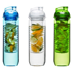 Sagaform Water Bottle With Fruit Piston 600ml