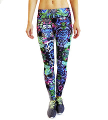 Kisaiya Women's Lois Yoga Printed Leggings