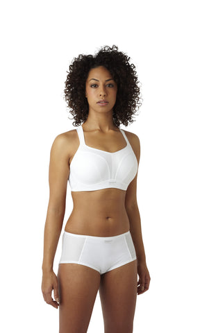 Panache Women's Full Cup Sports Bra - White - Sizes 36-40