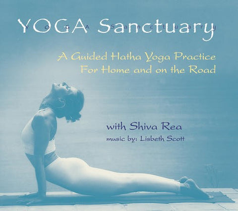 Yoga Sanctuary : A Guided Hatha Yoga Practice Audio Music CD - Yoga Studio