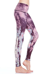 Teeki Eagle Feather Pink Hot Pant Yoga Leggings