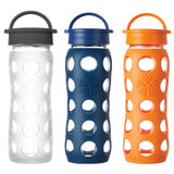 Life Factory Classic Water Bottle 22oz - Yoga Studio - 1