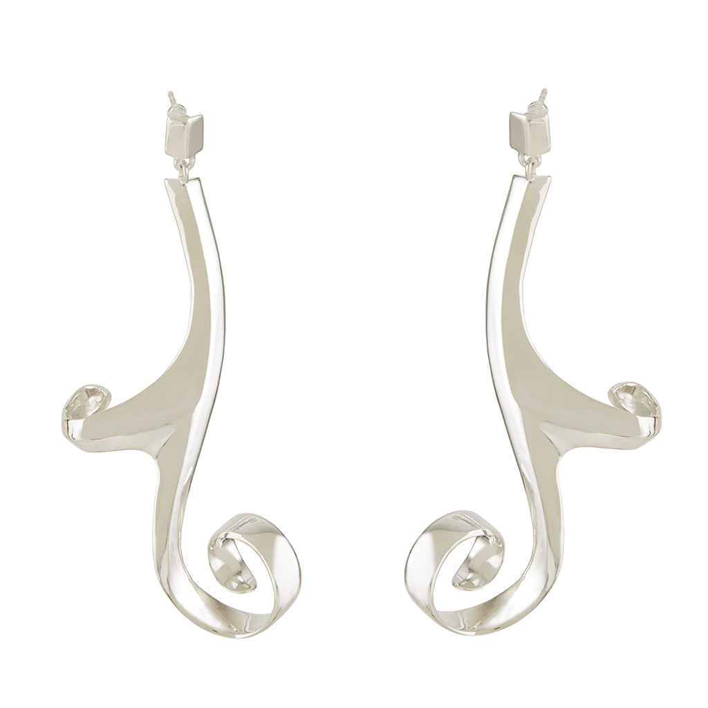 Artemis Earrings Silver